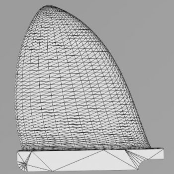 3D Printed D Fin