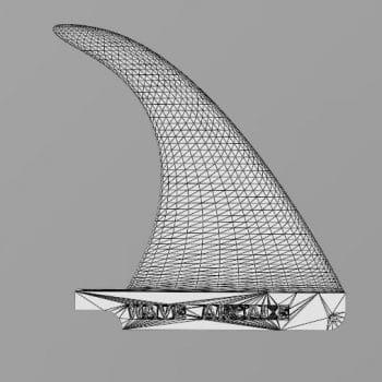 3D Printed Flex Fin