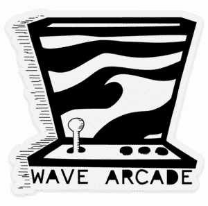 Wave Arcade Sticker