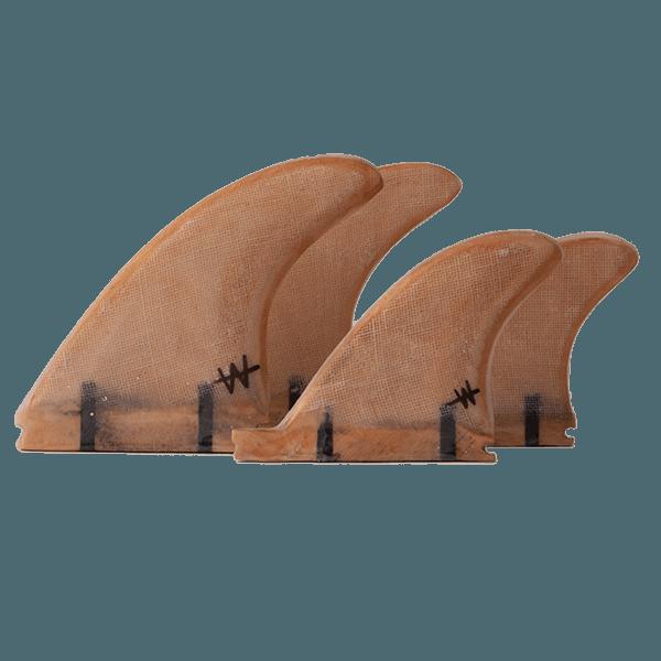 Wood Futures Quad Fin Set