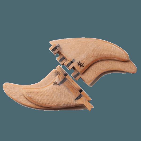 Wood FCS & Futures Surfboard Fins