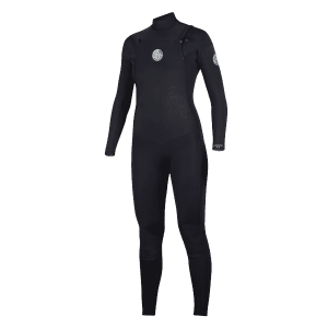 Rip Curl Women's Dawn Patrol Chest Zip Wetsuit 4/3