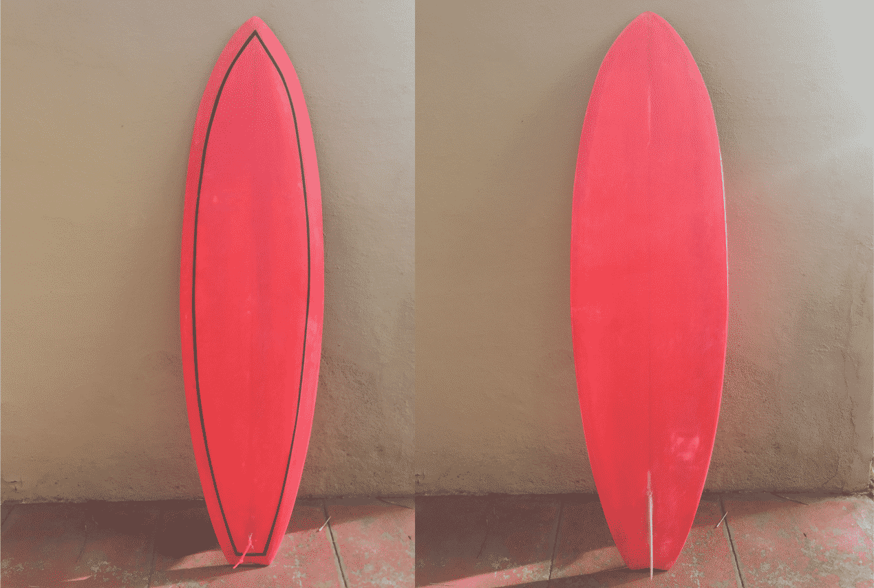 red single fin
