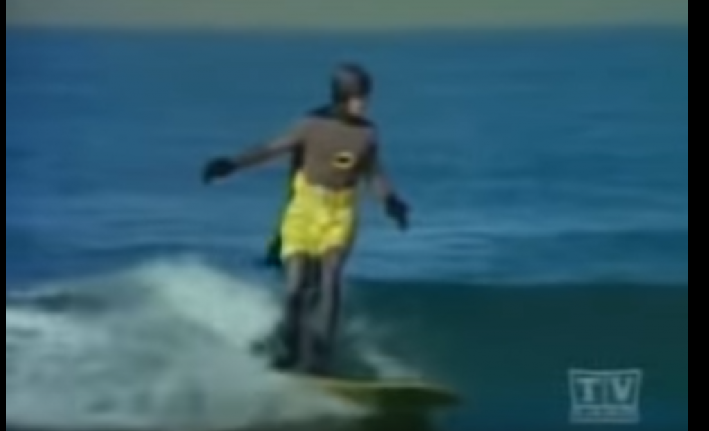 Batman TV show surfing