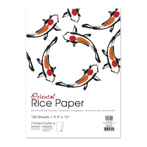 Surfboard Logo Rice Paper