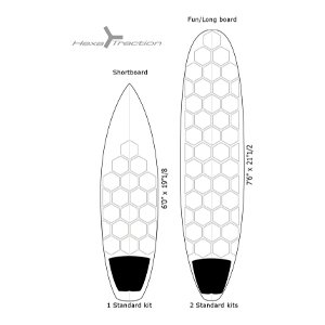 RSPro Clear Surfboard Deck Grip